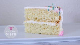 HOW TO MAKE VANILLA CAKE BATTER  Easy Vanilla Cake Recipe