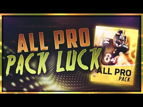 MADDEN MOBILE 17 ALL PRO PACK OPENING! CRAZY ELITE PULL!