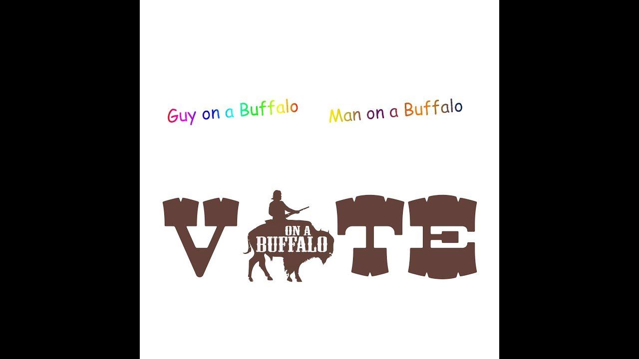 88601ae1 Man on a Buffalo vs Guy on a Buffalo