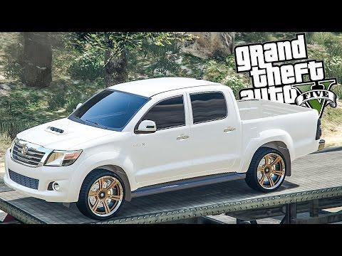Yamatum O | GTA V : #170 ขับวีโก้ โด้ได้แชมป์ (โรนัลโดไม่ได้กล่าวไว้)Toyota Hilux Vigo Champ