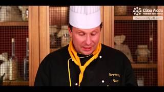 Кальмар фаршированный лососем (чавычей)