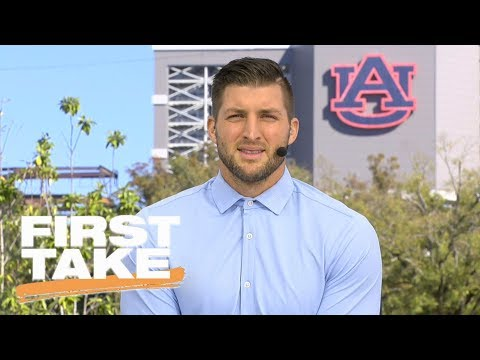 Tim Tebow picks No. 3 Notre Dame to beat No 7. UMiami | First Take | ESPN
