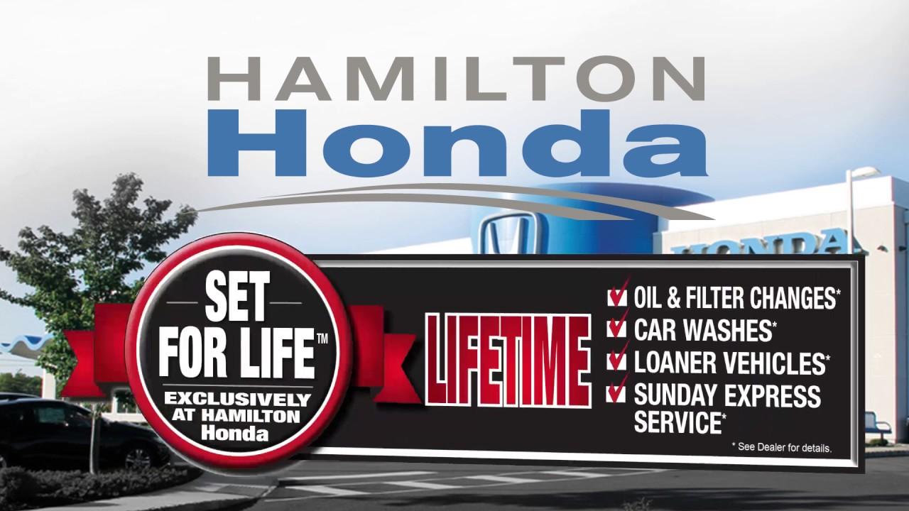 Hamilton Honda's Set for Life Program - YouTube