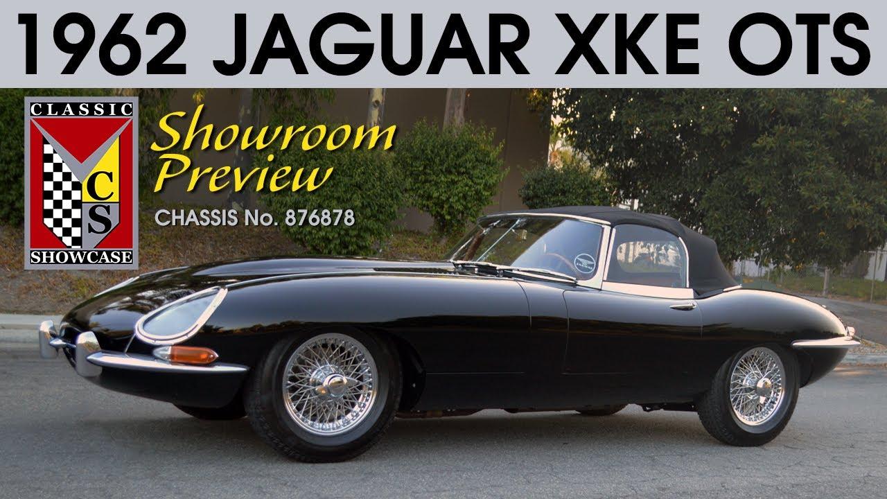 1962 Jaguar XKE Series 1 Roadster - Walk-Around Preview (4K)