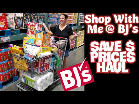 Monthly Haul @ BJ's Wholesale | Save Money Show Prices