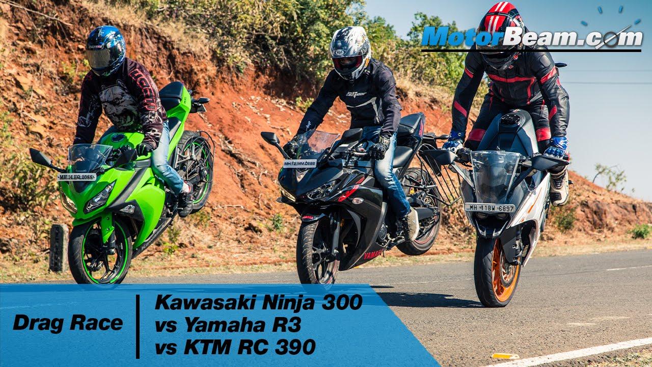 Yamaha R Quarter Mile