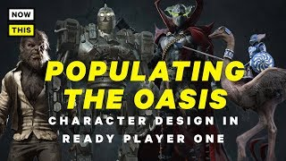 Populating the OASIS: Character Design in Ready Player One | NowThis Nerd