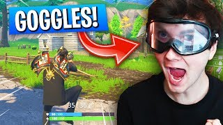 Playing Fortnite With DRUNK GOGGLES! (Fortnite Battle Royale Challenge!)