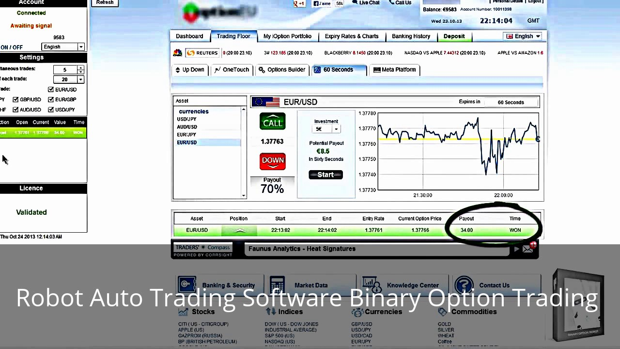 Auto trade soft ware for binary options