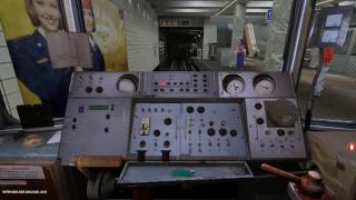 Поездка по замоскворецкой линии Московского метро в игре Trainz simulator 2012
