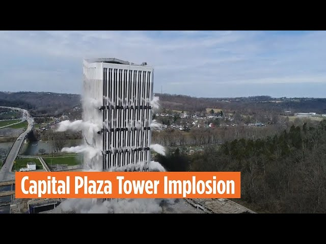 Capital Plaza Tower Implosion