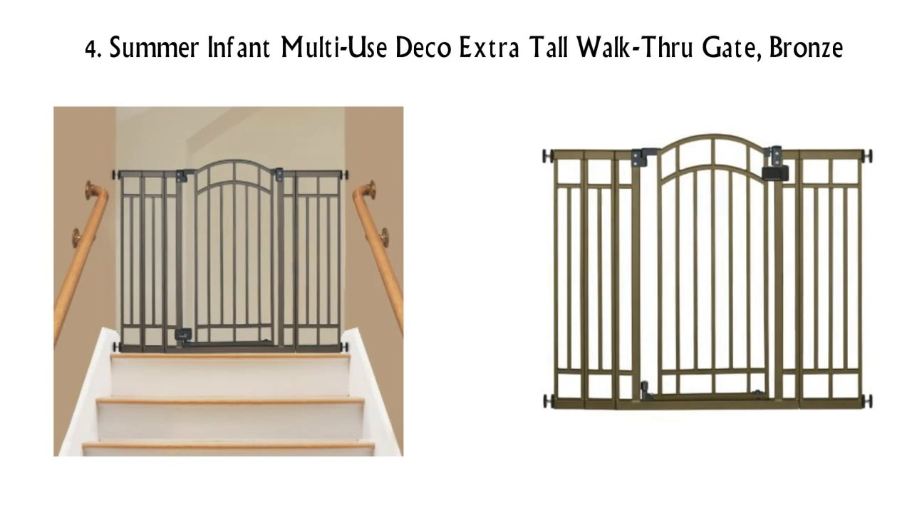 Top Rated Cheap Baby Gates Reviews Top Of Stairs Baby Gate