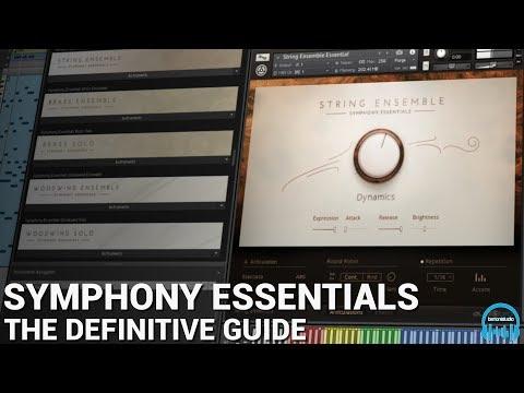 KONTAKT SYMPHONY ESSENTIALS Strings, Brass, & Woodwinds - The Definitive Guide