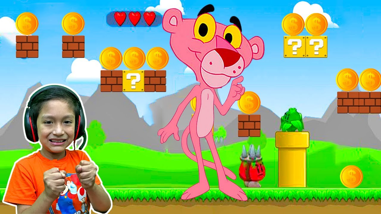 La Pantera Rosa - Pink Panther Cap. 1 - Juegos para Niños