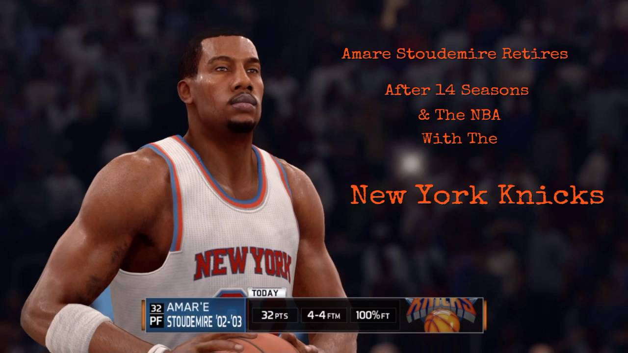 2016 Amar e Stoudemire Retires Career Highlights NBA Live