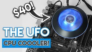 RGB UFO CPU COOLER?! [Cooler Master G100M Review!]