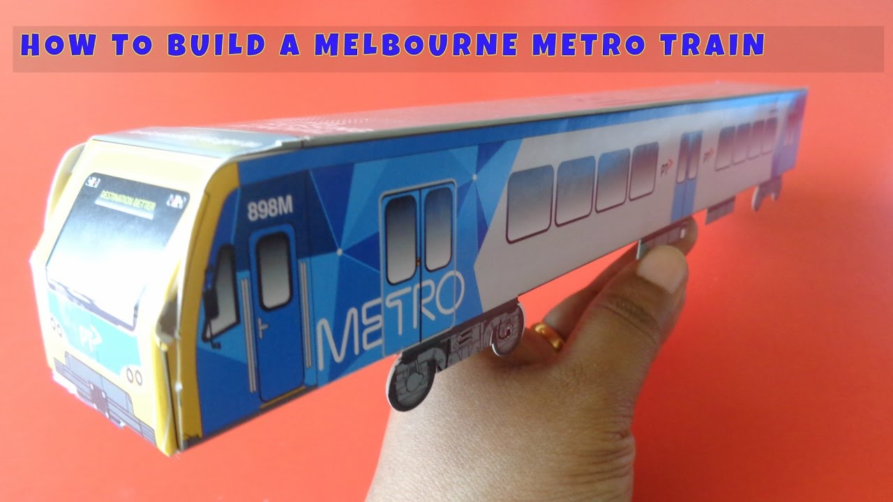 how to make a metro train in melbourne for kids ii youtube. Black Bedroom Furniture Sets. Home Design Ideas