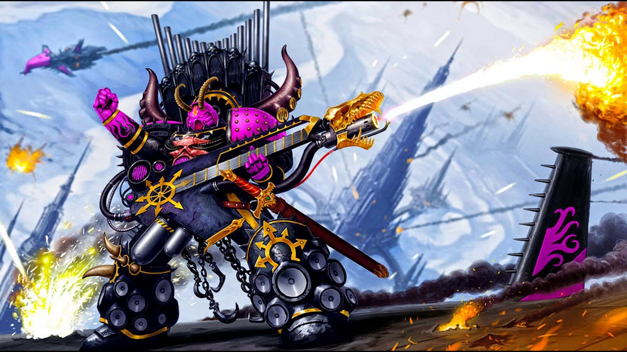 E.M.M.P - This Quiet Offends Slaanesh. (Feel power of ...