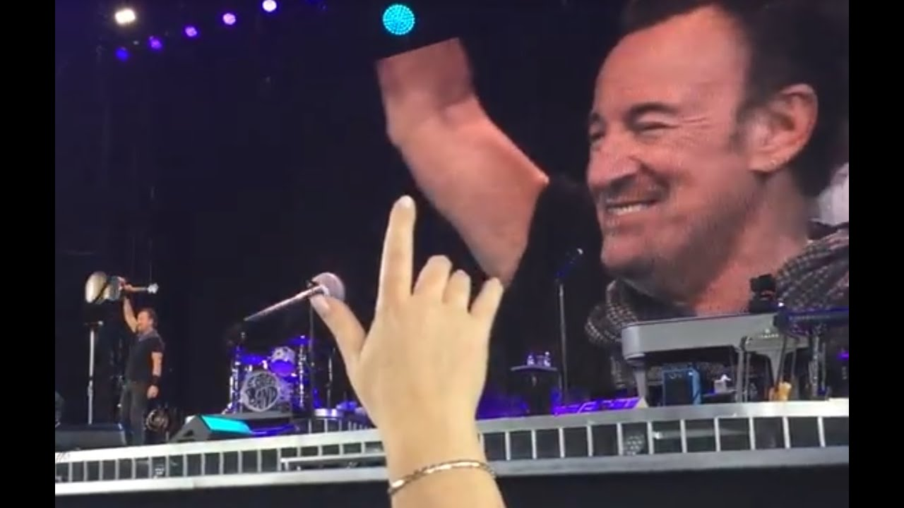 Bruce Springsteen And The E Street Band For You Solo Acoustic Pit