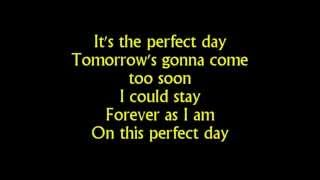 Barbie movie song  Perfect day lyrics on screen   YouTube