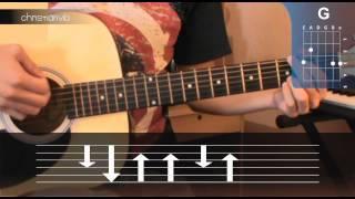 """Cómo tocar """"Rayando el Sol"""" de Maná en Guitarra (HD) Tutorial - Christianvib"""
