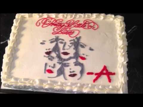 Pretty Little Liars Summer Premiere Cake - Carollynn's Cakes