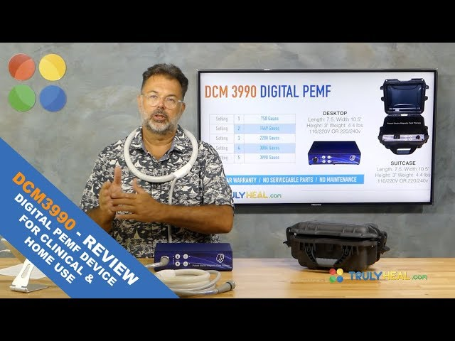 Review of the brand new DCM399 PEMF Device for clinics and home