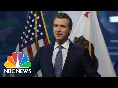 California Gov. Newsom Holds Covid-19 Briefing | NBC News
