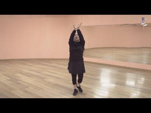 Женский армянский танец | Базовые движения | Танцующая страна