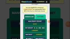 Win freebetcoin without lost never auto bet roll play
