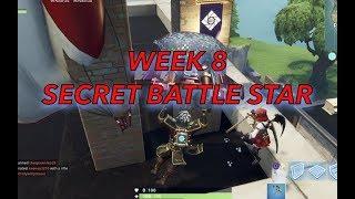 Week 8 Secret Battle Star - Season 6 - Fortnite