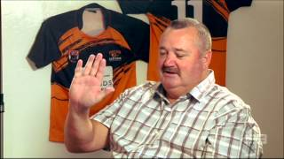2014 Footy Show Small Talk with the Lane Cove Tigers u11s