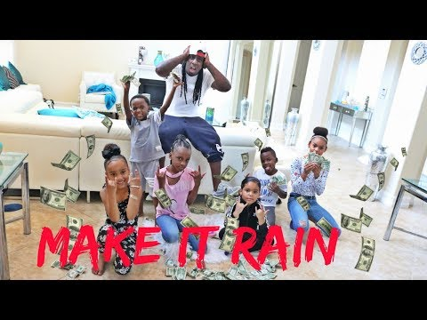 WE MADE IT RAIN AT THE PANTON SQUAD CRIB FT AJMOBB AND BEAM SQUAD FAMILY VLOG