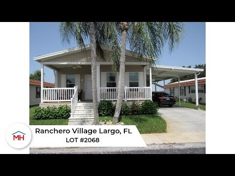 2017 Palm Harbor Manufactured Home For Sale FL.- Ranchero Village Lot 2068