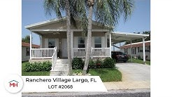 Palm Harbor Manufactured Home For Sale FL.- Ranchero Village Lot 2068