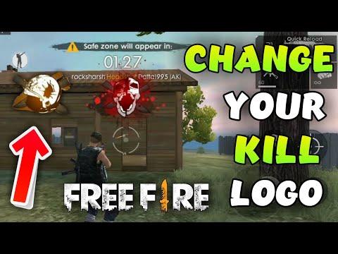 How To Change Kill Logo In Freefire New Killing Logo Black Smoke Garena Freefire Youtube