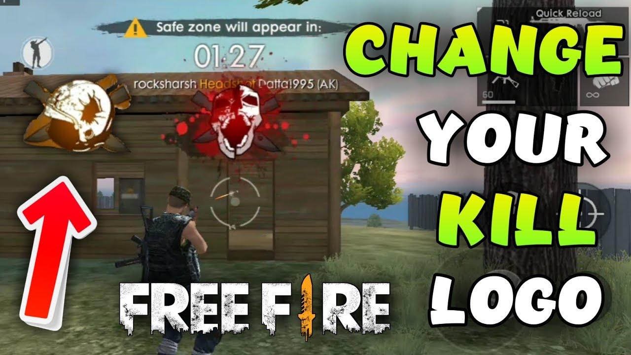 How To Change Kill Logo In Freefire New Killing Logo Black Smoke Garena Freefire