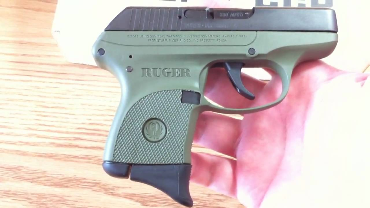 Ruger LCP Review in OD Green