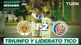 Resumen y Goles | Curazao 1 - 2 Costa Rica | CONCACAF Nations League - J5 - Grupo D | TUDN