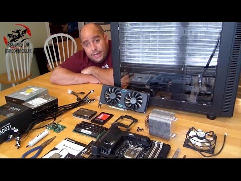 How to install a Motherboard, RAM, CPU, CPU Fan and Thermal Paste [Video Tutorial]