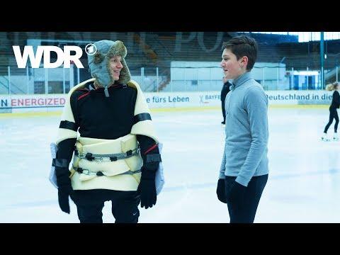 Kann es Johannes? - Eiskunstlauf | WDR