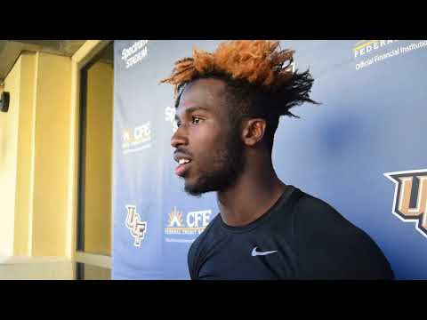 2018 Chick-fil-A Peach Bowl (UCF Vs. Auburn) | Post-Practice Scrum With Players