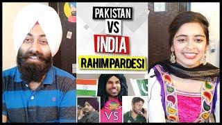 Indian Reaction on Pakistan vs India | Rahim Pardesi | PunjabiReel TV