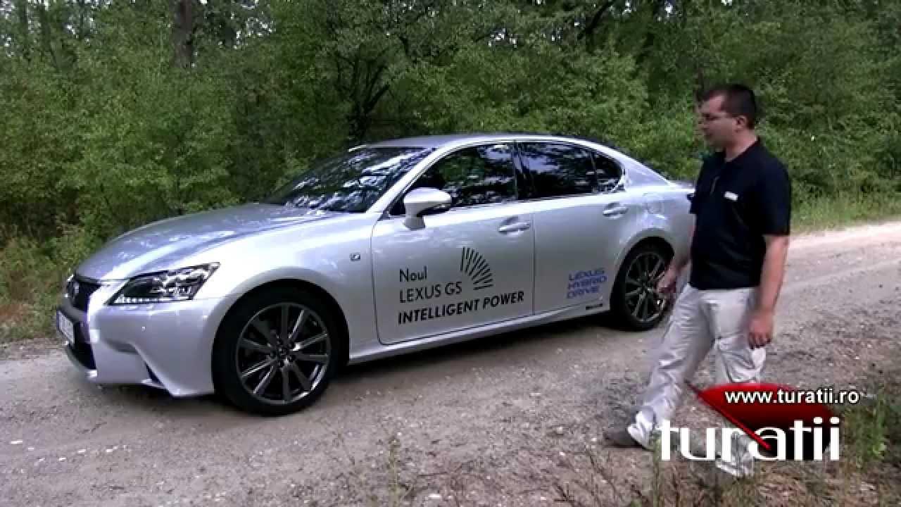 Lexus GS 450h F Sport explicit video 1 of 4 - YouTube