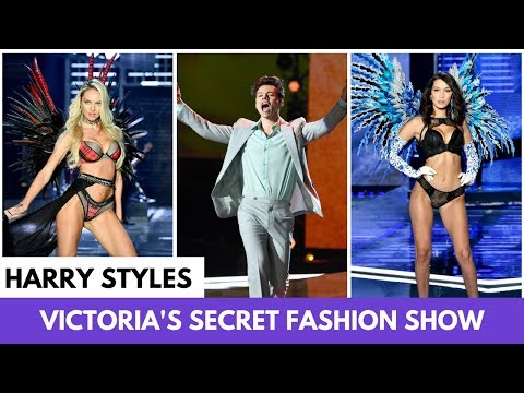 Harry Styles is the Best Part of the 2017 Victoria's Secret Fashion Show