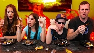 WHAT DID WE JUST EAT?? - Trying Asian Snacks Challenge