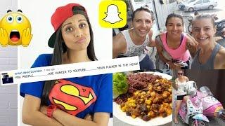 Snapchat Story Vlog | Superwoman cult wants us DEAD!