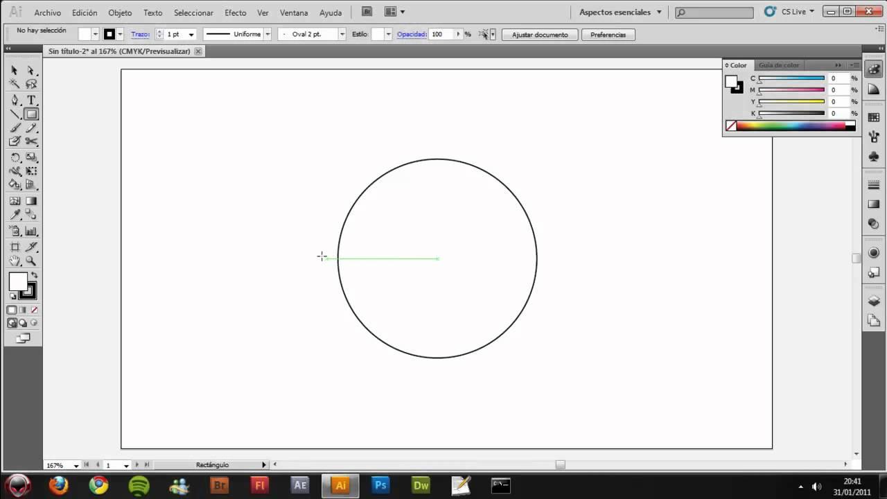 Puerta Sellada simple en Adobe Illustrator CS5
