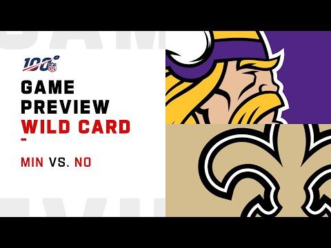 Minnesota Vikings vs New Orleans Saints Wild Card Weekend Game Preview