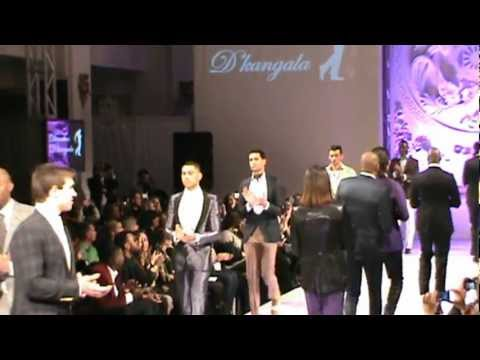Dianthus D' kangala by Allex Kangala (Angola/Portugal) | Couture Fashion Week New York February 2013